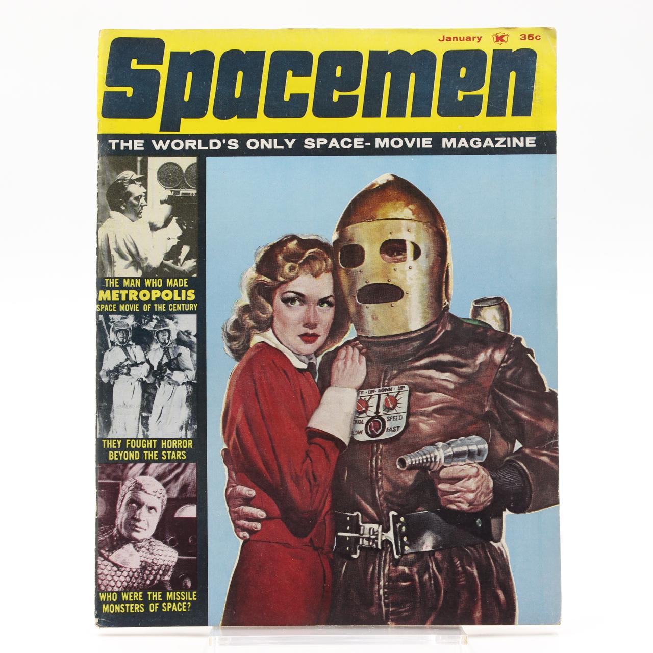 Goodlife Auctions Lot 1080 Spacemen No 6 January