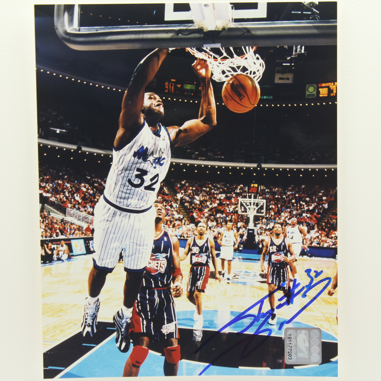 Photos, Shaquille O'Neal, Autographed, Incl. CoA