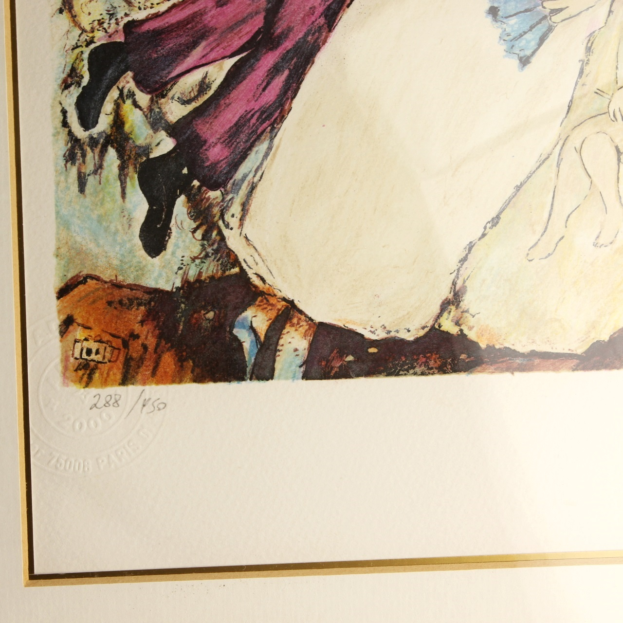 Goodlife Auctions Lot 1404 Marc Chagall Lithograph