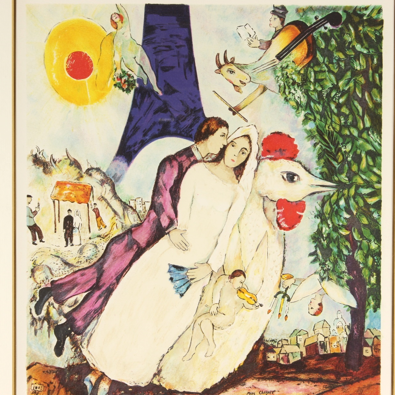 GoodLife Auctions - Lot 1404, Marc Chagall Lithograph, \