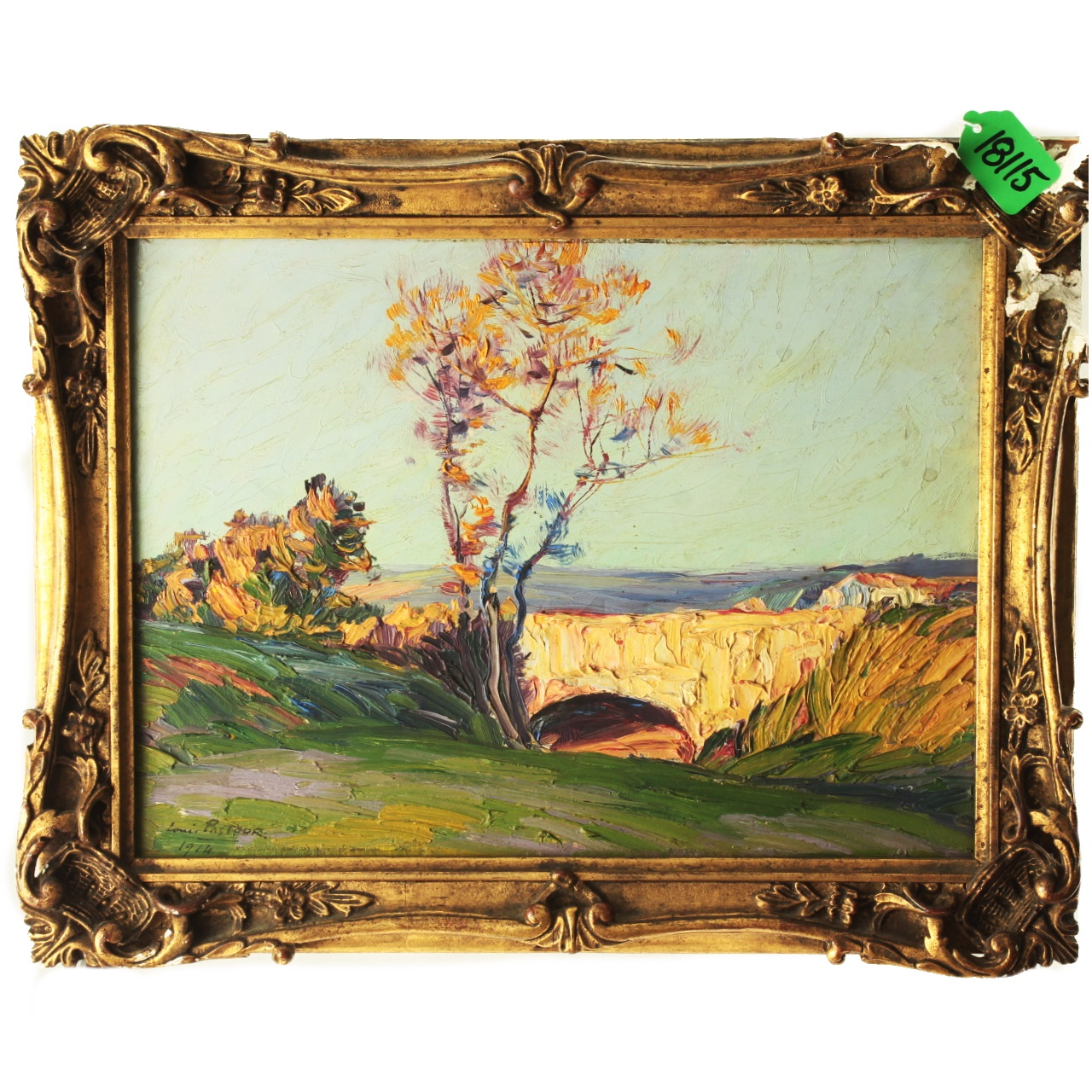 Goodlife Auctions Lot 2124 Oil Painting C 1914 By