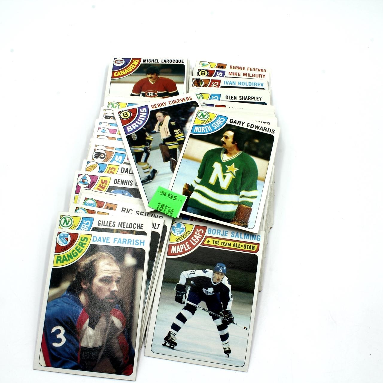 Cards, 1978 Topps Hockey