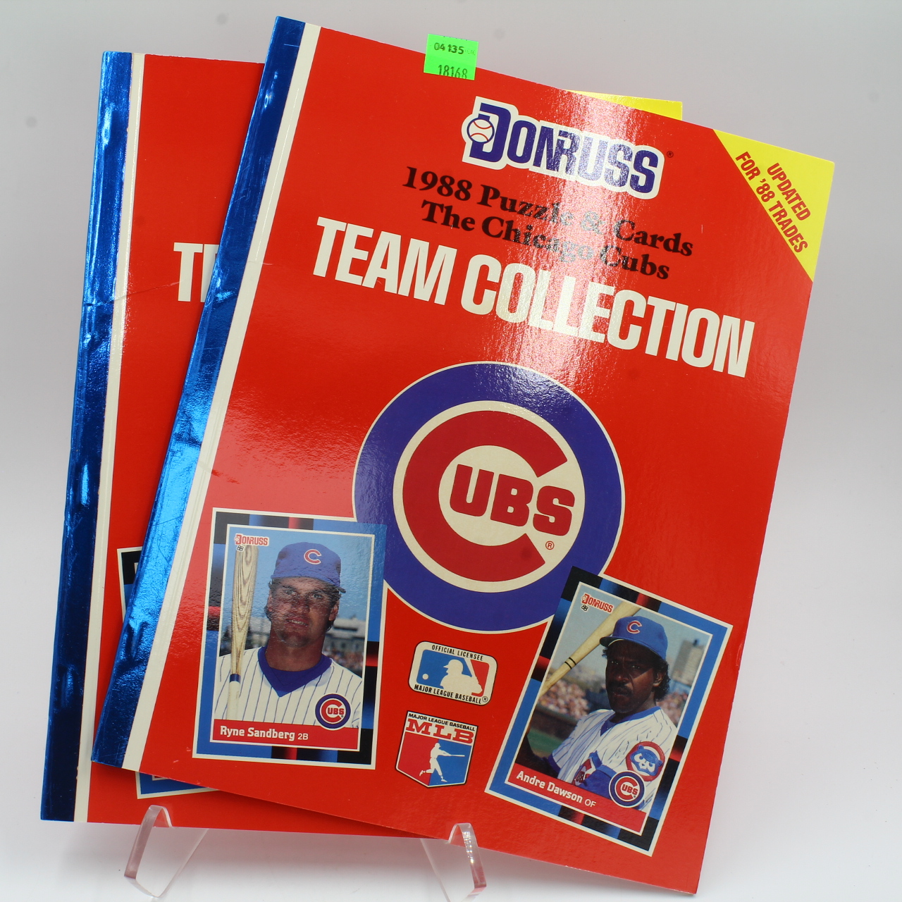 Cards, 1988 DonRuss Chicago Cubs Puzzle Cards