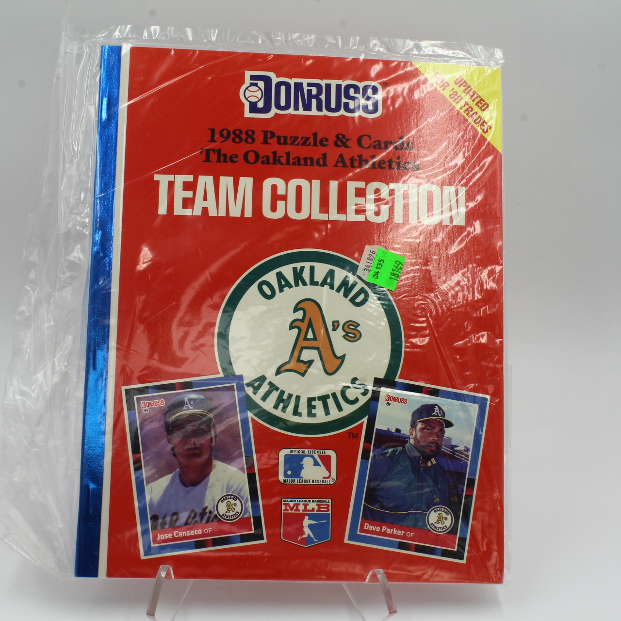 Cards, 1988 DonRuss Oakland A'S Puzzle Cards