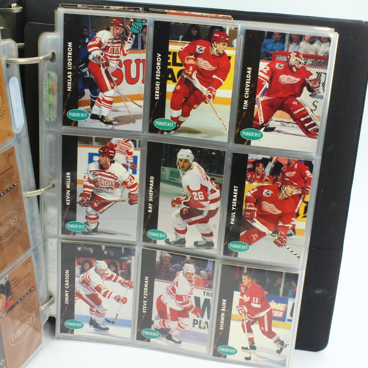 Cards, 1991 NHL Parkhurst 1-225