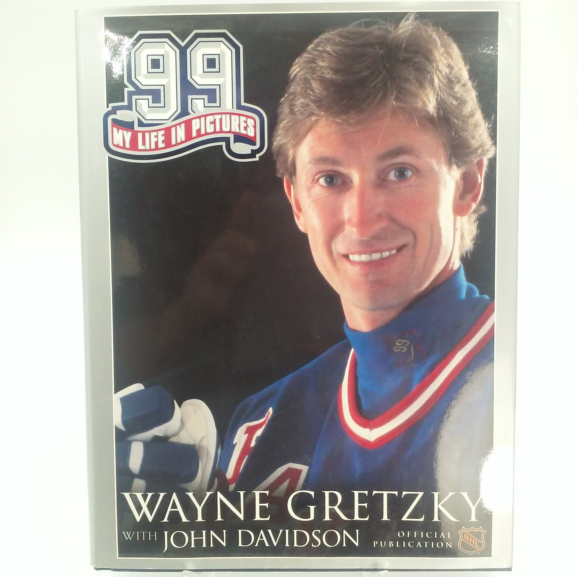 Book, 99 - Wayne Gretzky My Life in Pictures