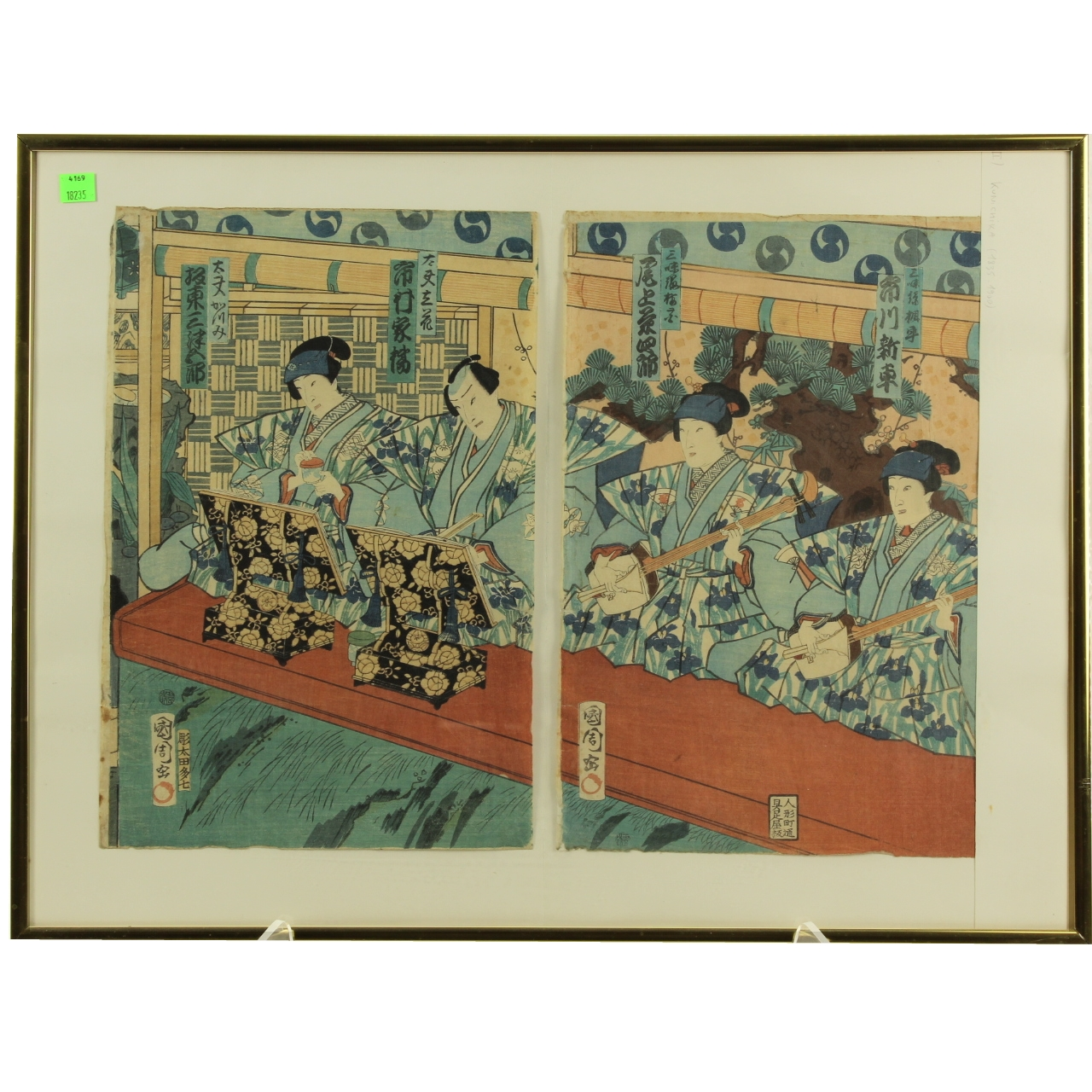 19th Century Japanese Wood Block Prints