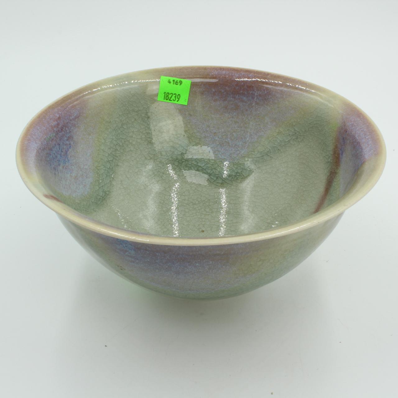 Vintage Japanese Ceramic Bowl, Large
