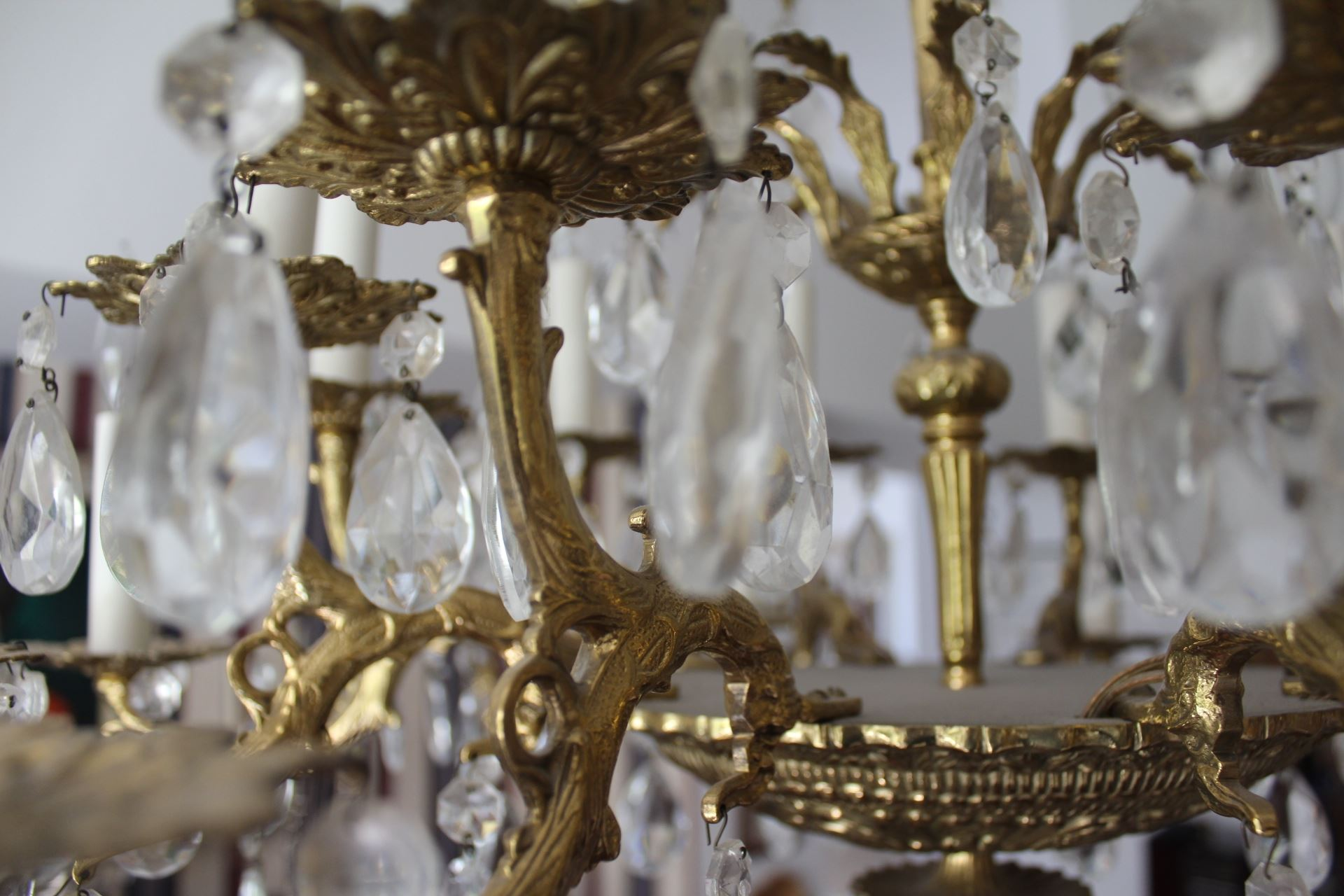 GoodLife Auctions Lot 65 Antique French Chandelier For Sale
